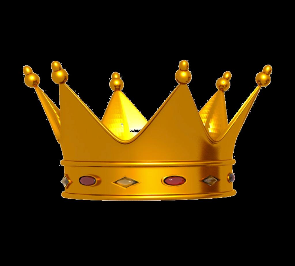 Transparent King Crown Png